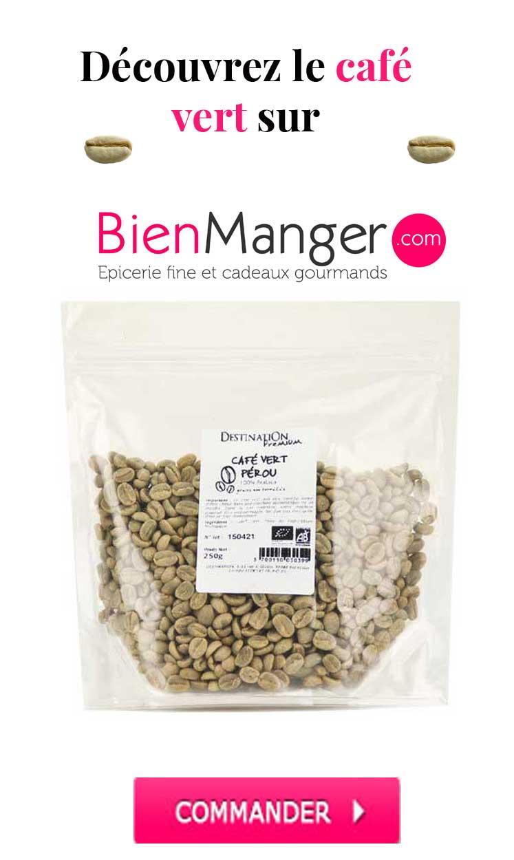 Café vert sur BienManger.com
